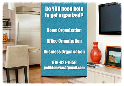 Home, Office, and Business Organization