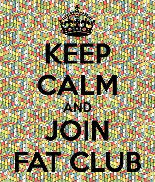 Tues 15 Sep: Whatever happens in fat club, stays in fat club