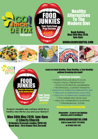 You Called, We Answered -Welcome to the Food Junkies event