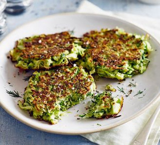 Your Lunch...Green fritters