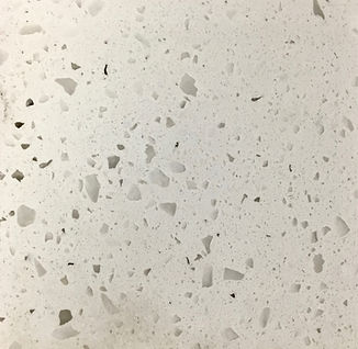 Iced Whie quartz countertop sample