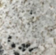 Andino White granite countetop sample