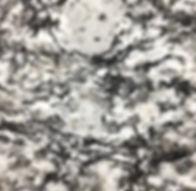White Mist granite countertop sample