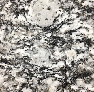 White Mist granite countertop sample