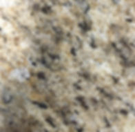 Amarello Ornamental granite countertop sample