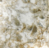 Chakra Beige quartz countertop sample