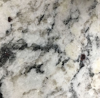White Ice granite countertop sample
