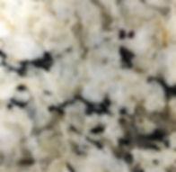 Snowfall granite countertop sample