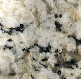 Snowfall granite countertop sample