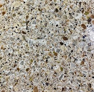Toasted Almond quartz countertop sample