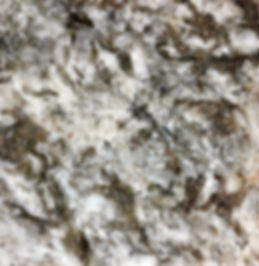 Ganache granite countertop sample