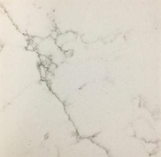 Alabaster White quartz countertop sample