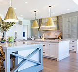 White and Dill Pyramid Pane Kitchen