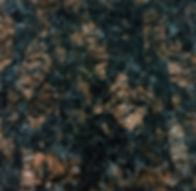 Tan Brown granite countertop sample