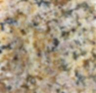 Solarius granite countertop sample