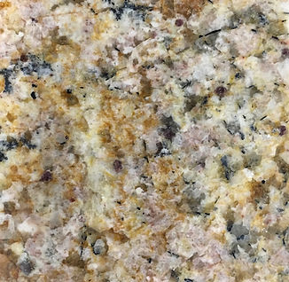 Solarius granite countertop sample