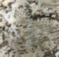 Bianco Antico granite countertop sample