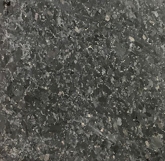 Black Galaxy granite countertop sample