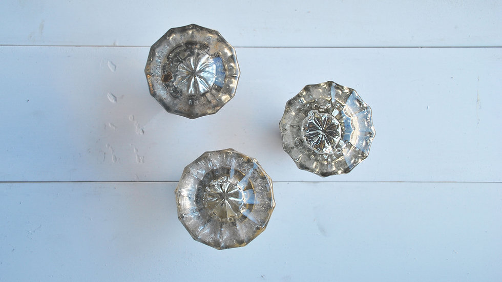 Vintage Crystal Knobs