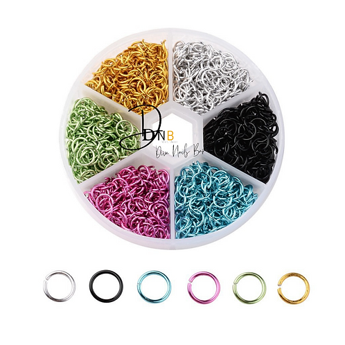 Piercing multicolore