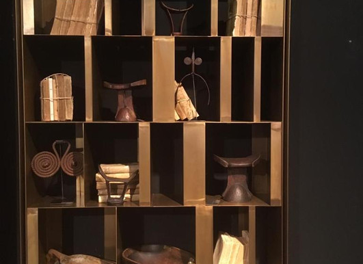 Estanterías decorativas para interiores y comercios