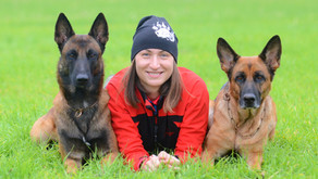Поздравляем Марию Вишневскую с присвоением I разряда по спортивно-прикладному собаководству!