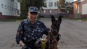 Отборочные соревнования специалистов-кинологов со служебными собаками ГУ МВД по Нижегородской област
