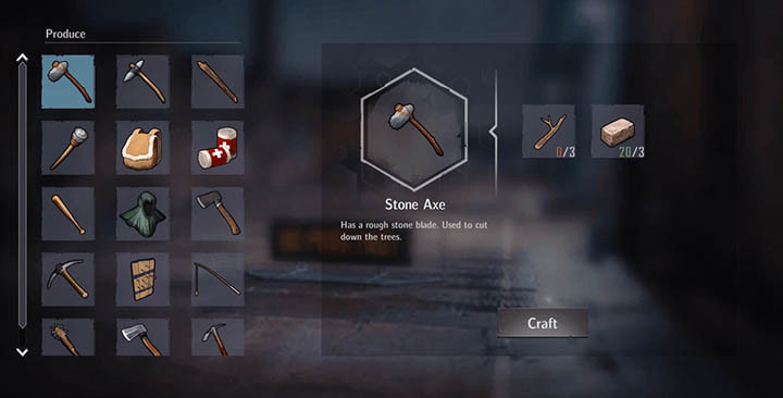 Tool crafting has been simplified, but weapon crafting has been expanded upon.