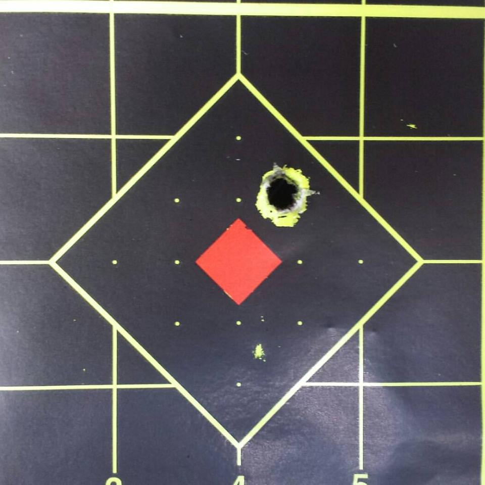 308 Win Rough Rider Custom Rifle Package 3 shots at 100 yards using Federal Gold