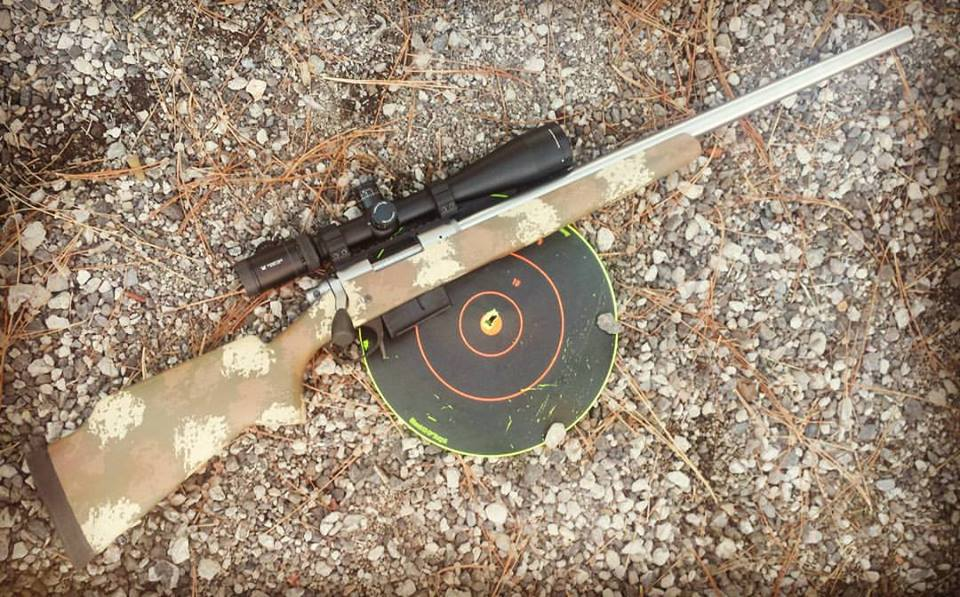 Rough Rider custom rifle package chambered in 308 Win first three shots Federal Gold Medal Match.jpg
