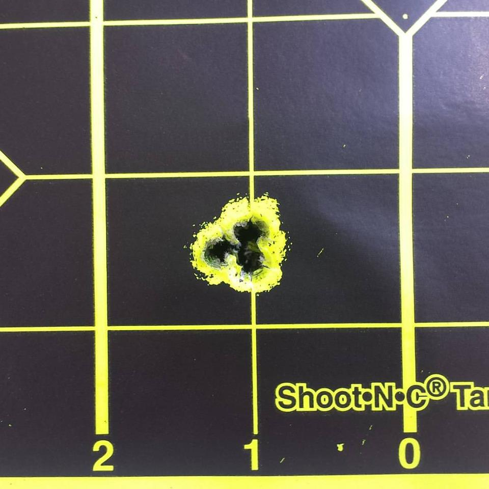 6.5x284 Customer Barrel on Trued Remington 700 Action First Three Shots.jpg