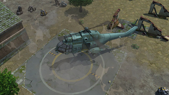 Better than Uber!  Your mission is to build the helipad and call in the evac helicopter.