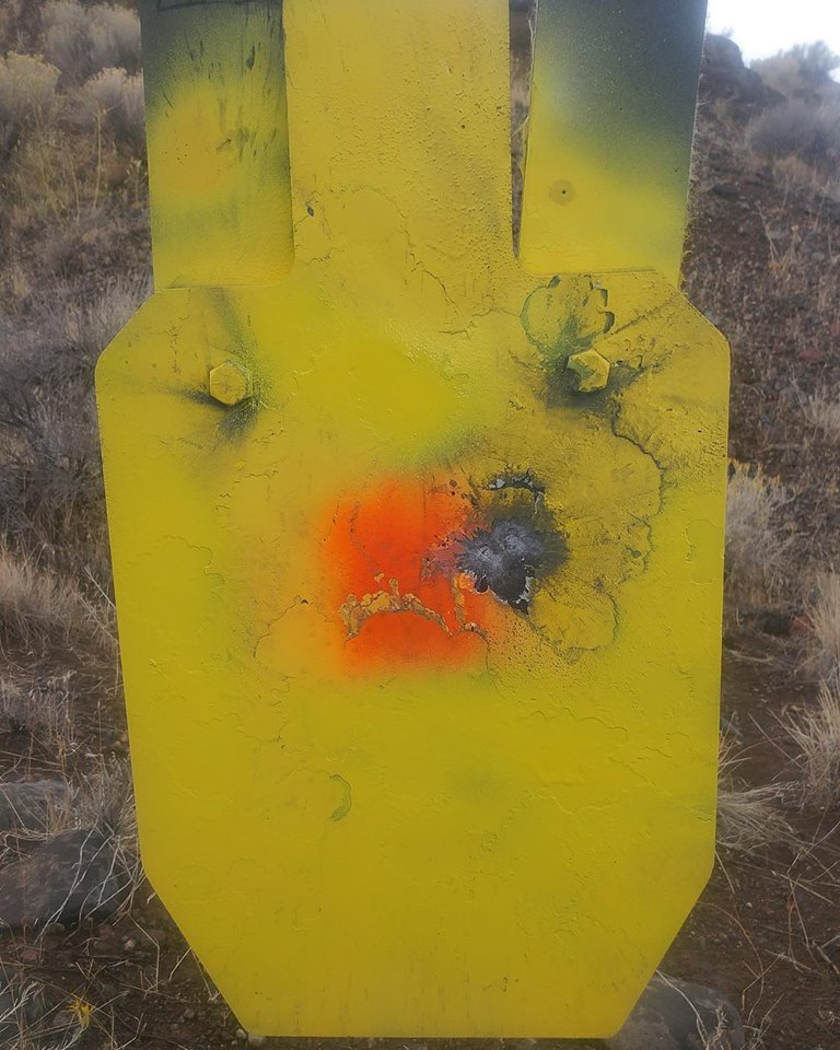 NWLR custom rifle package chambered in 300 RUM at our 630 yard gong - 2 shots with our 230 gr Berger