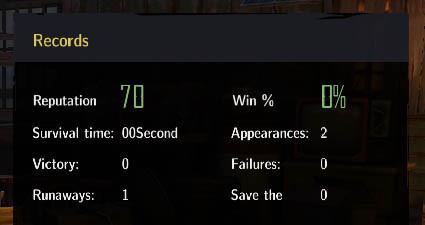 Increase your reputation amongst fellow survivors.