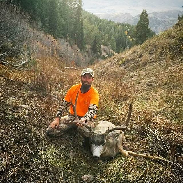 Heavy Hitters Outdoors Idaho Mule Deer taken with Northwest Action Works re-work