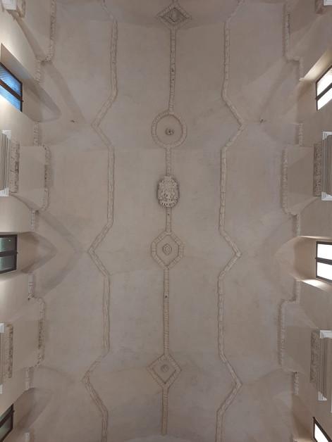 Lavori di restauro della volta della Chiesa Sant'Agostino in Gravina in Puglia - Extra Tetto e Restauro affreschi