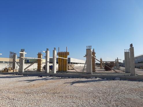 Lavori per la realizzazione di opere di carpenteria relative alla costruzione di  nuovi capannone industriali in Modugno