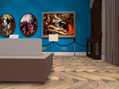 """Lavori """"chiavi in mano"""" per la realizzazione di pinacoteca e per l'abbatimento di barriere architettoniche in casa museo della Fondazione Ettore Pomarici Santomasi"""