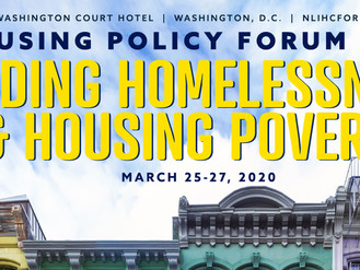NLIHC To Offer More Sessions for Low-Income Residents at 2020 Housing Policy Forum