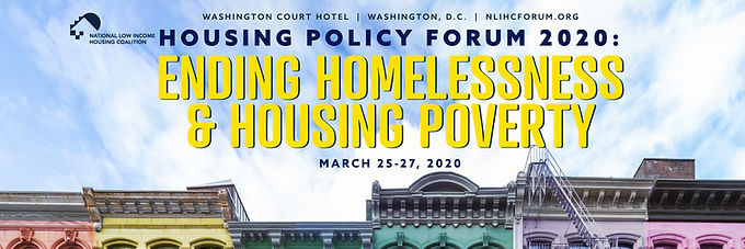 """Redesigning Disaster Recovery"" to be Explored at NLIHC Housing Policy Forum 2020"