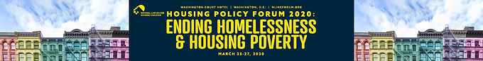 NLIHC Housing Policy Forum 2020