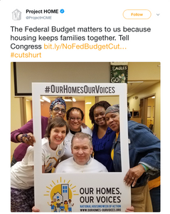 The Federal Budget matters to us because housing keeps families together. Tell Congress http://bit.ly/NoFedBudgetCuts#OurHomesOurVoices … #cutshurt
