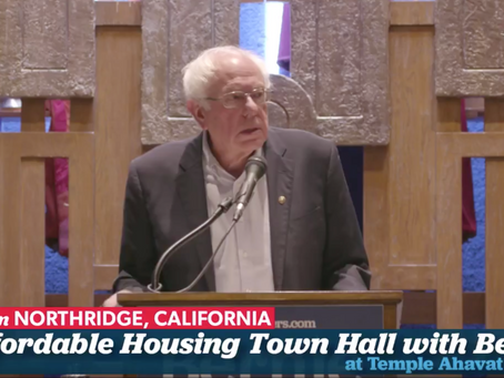 Affordable Housing Town Hall with Bernie