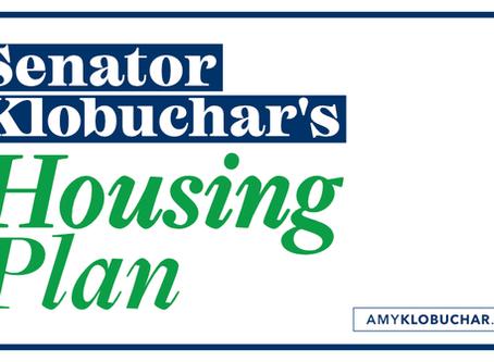 Senator Klobuchar's Housing Plan