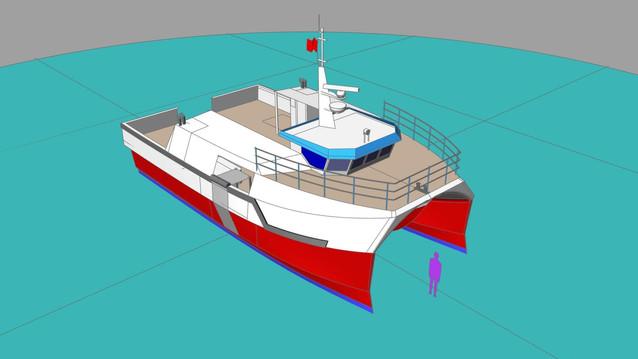 15m High Speed Fishing Vessel
