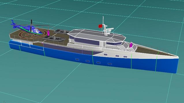 50m Passenger yacht