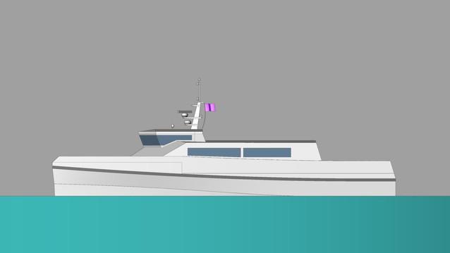 24m Catamaran ferry, caribbean