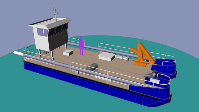 14m Moring Service Vessel