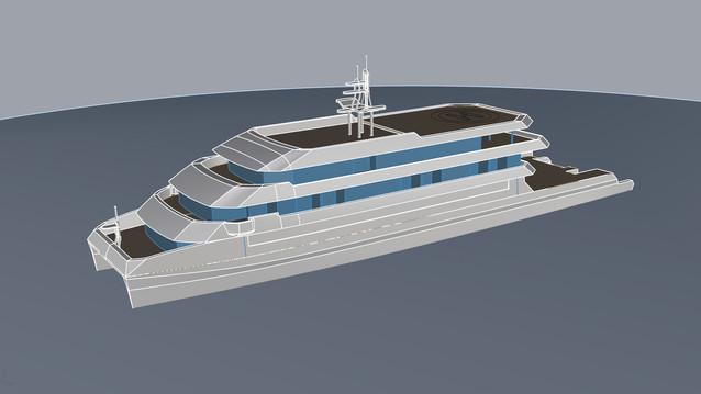 70m Passenger yacht