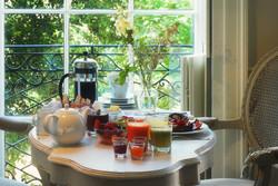 Room 1 breakfast table